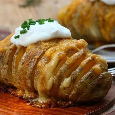За печеный картофель с сыром